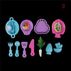 Ice Cream Popsicles Chips Barbie Doll Toy Kitchen food Play Doll toy for b Yy