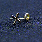 New Fashion accessories simple star stud earring gift for women girl tiny dainty