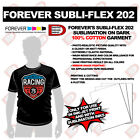 Subli-flex 202 Dark TShirts NOW sublimation in Cotton Is Possible Transfer pape