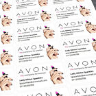Personalised Sticky Labels / Stickers Avon Reps, Custom Print Sticker Printing