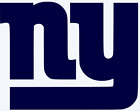 New York Giants Logo Vinyl Decal Sticker - You Pick Color & Size