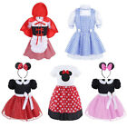Girls Baby Minnie Mouse Kids Fairy Dress Princess Costume Cosplay Party Outfits