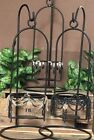 Tall Cast Iron Hanging Candle Holder Your Choice of Color