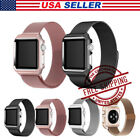 For Apple Watch 38/42mm Series 3 2 1 Stainless Magnetic Iwatch Band + Case Cover image