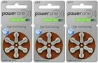 Powerone Hearing Aid Battery Size P312 - 6 batteries to 240 batteries - Fresh