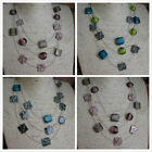Wholesale 4 - 8 -12 Mother of Pearl Shell Necklaces Multi Strands  in 3 Colours