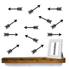 Arrow Shaped Decal Wall Art Vinyl Wall Decal Various Sizes And Colours 0155