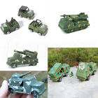 Military Army Truck Armored Car Model Missile Launch Vehicle Children Toy Gift