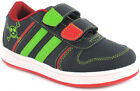 New Boys/Childrens Navy/White Touch Fastening Trainer UK SIZES
