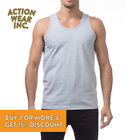 Mens Plain TANK TOP Sleeveless MUSCLE T SHIRT Gym Workout Fitness Relaxed Fit