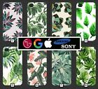 Leaves Design Phone Case Cover Plants Google Pixel 2 Note 8 a3 iPhone X + 8 469