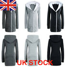 Womens Girls Slim Fashion Winter Zip Pullover Hooded Parka Long Sleeve Jackets