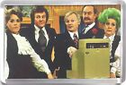 Are You Being Served? John Inman Mollie Sugden movie poster Magnets & Keyring
