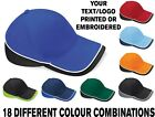 Personalised Embroidered Teamwear Baseball Cap Custom Printed Hat Unisex
