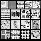 DIY Craft Layering Stencils Template Fr Walls Painting Scrapbooking Stamping