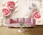 Regular Pulpy Lily 3D Full Wall Mural Photo Wallpaper Printing Home Kids Decor