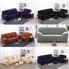 3 seat couch - 1 2 3 4 Seat  Stretch Sofa Loveseat Cover Slipcover Elastic Couch Protector Set