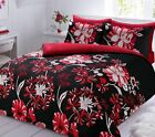 Linear Floral Luxury Duvet Covers Quilt Covers Reversible Bedding Sets All Sizes