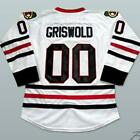 Clark Griswold Ice Hockey Jersey Mens National Lampoons Christmas Vacation White