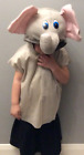 Fancy Dress Kids Elephant Costume Tabard & Headpiece    (2 Sizes) Instant Dress Up