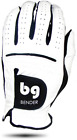 BENDER COLOR GOLF GLOVE ● White Synthetic - Cabretta Leather