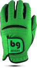 BENDER COLOR GOLF GLOVE ● Green Synthetic - Cabretta Leather