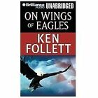 ON WINGS OF EAGLES unabridged audio book on CD by KEN FOLLETT - Brand New!
