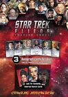 Star Trek Aliens Auto Stickers Quotable Klingon First Appearances trading cards