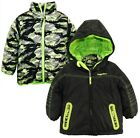 Rugged Bear Toddler Boys 2-in-1 System Winter Coat Quilted Fire Camo Jacket
