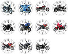 Wall Clock with Motif: Triumph Motorcycle Biker Motorcycle Motif Biker Motifs €23.95 EUR on eBay