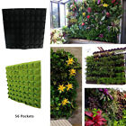 18/36/56xPocket outdoor Vertical Greening Hanging Wall Garden Plant Bags Planter