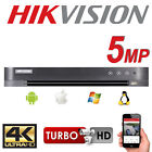 HIKVISION 8CH CHANNEL DVR 5MP 1080P CCTV TURBO HD UP TO 6TB HDTVI DS-7208HUHI-K1