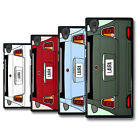 Personalized 500 Initial Name Car Plate Solid Phone Case Cover Skin for Sony HTC