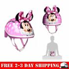 Minnie Mouse Helmet Bike Bicycle 3D Bow Ears Toddler Girls Safety Ride Gift New