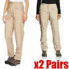 2 x Regatta Womens Action Cargo Combat Walking Hiking Golf Trousers RRP £35 each