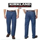 NWT Kirkland Signature Mens Jeanswear Relaxed Fit Jean Free shipping Medium Wash