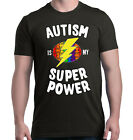 Autism Is My Super Power T-shirt Autism Awareness Month Shirts image