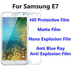 3pcs For Samsung Galaxy E7 Anti Scratch Matte,High Clear Screen Protector