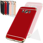 Ultra Slim For Samsung Galaxy Phones S8 7 6+ NOTE 8 5 Luxury 3 IN 1 Rugged Case