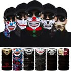 Cycling Ski Scarf Face Mask Clown Motorcycle Neck Tube Balaclava Halloween Party