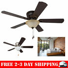 "52"" Prominence Home Coors Creek, Hugger Ceiling Fan with Remote Control"
