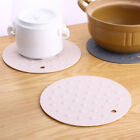Silicone Kitchen Holder Mat Pot Tray Heat Non-slip Resistant pad Circular O0124