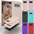Slim Shockproof Tough Bling Glitter Case Cover For Samsung Galaxy S9/S9+ Note 8