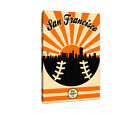 San Francisco Giants Vintage Baseball Canvas on Ebay