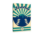 Seattle Mariners Vintage Baseball Canvas on Ebay