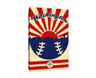 Washington Nationals Vintage Baseball Canvas on Ebay