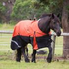 LOVE MY HORSE 1200D 6'9 7'0 7'3 Clydesdale Heavy Horse W'proof Rainsheet Orange