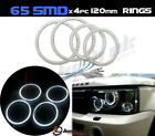 *4 x Range Rover Sport Vogue Discovery headlamp led smd rings drl 120mm 2 cob <br/> Pro PCB board designed for Purpose &amp; Reliability