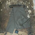 New Lanvin Cotton Khaki Trousers With Inner Leg Band Size 50 BNWT RRP £515