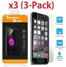 Real Premium Tempered Glass Screen Protector Iphone X 7 Plus 6 6s 5 Iphone 3Pack